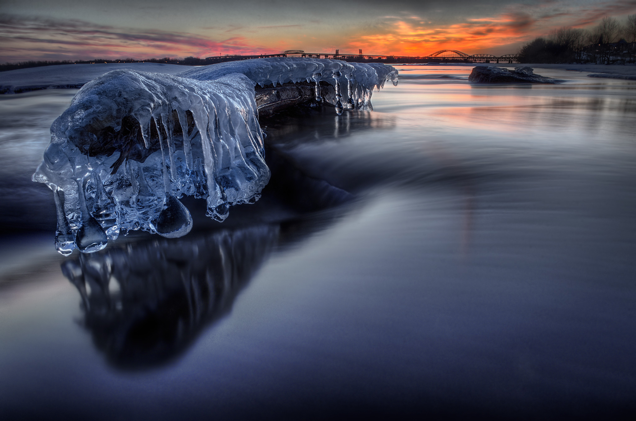 Icy Waters Fine Art photography