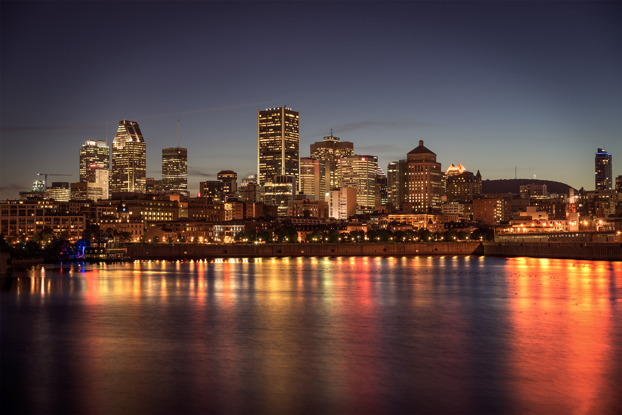 Montreal By Night Fine Art photography
