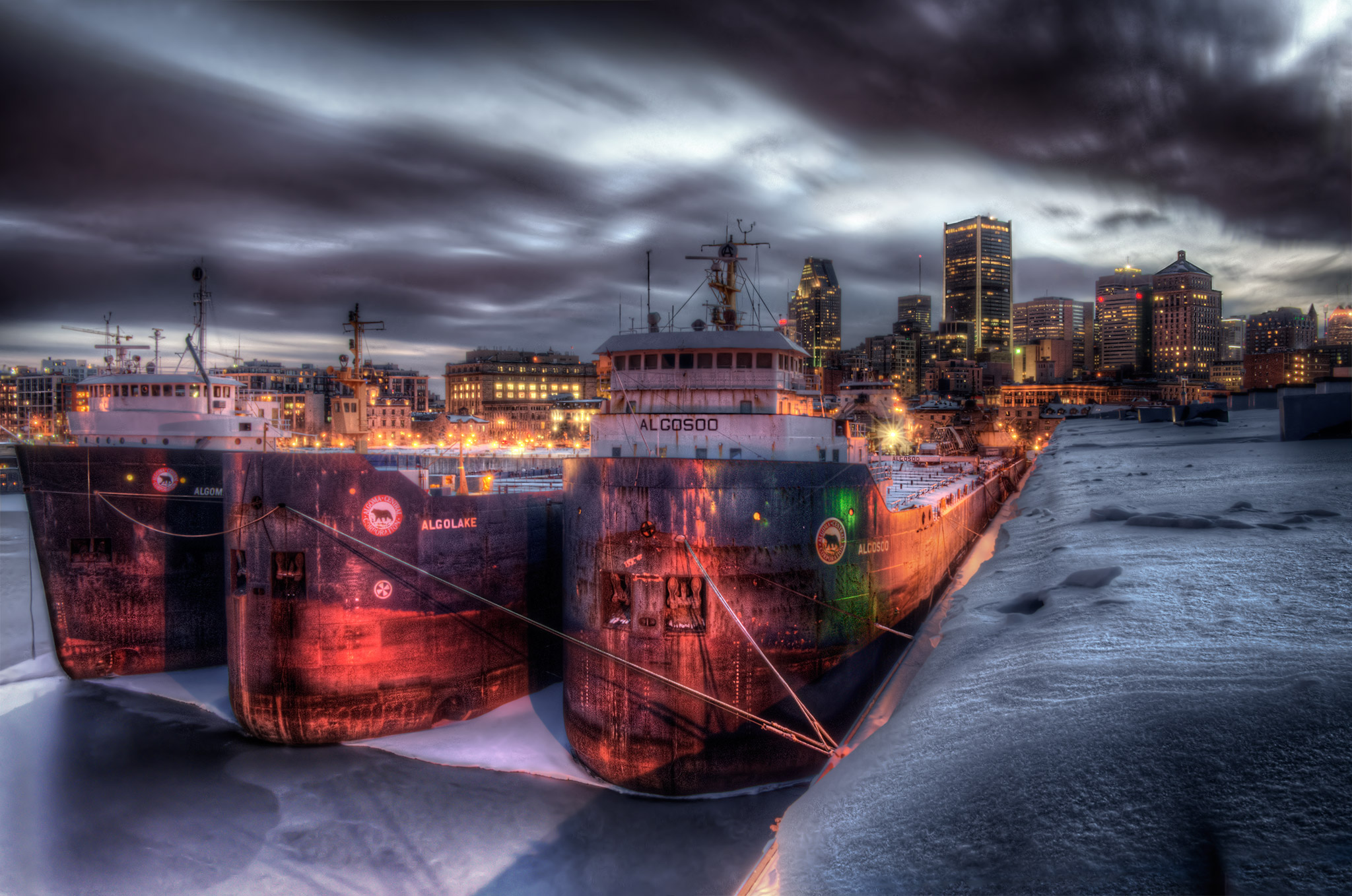 Montreal Port Fine Art photography