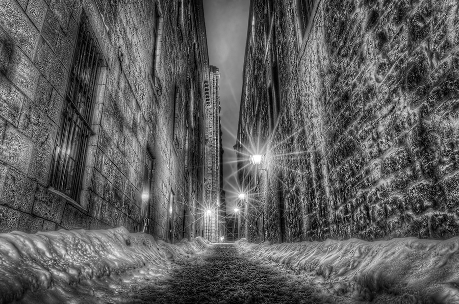 Narrow Alley Fine Art photography