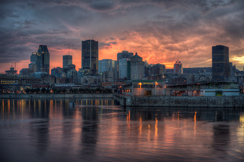 Set Over Montreal Fine Art photography