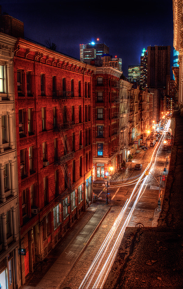 Soho Night Fine Art photography
